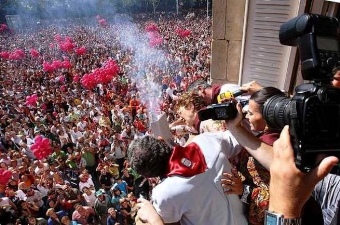 La Fiesta de la Vendimia en Logroño, en septiembre