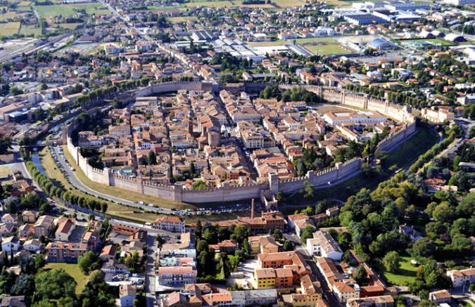 Fin de semana en cittadella en Italia