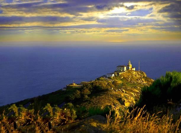 Faro de Fisterra, en la Costa da Morte, Galicia