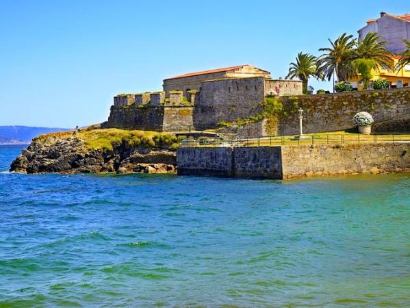 Castillo de San Carlos, en Fisterra, Galicia