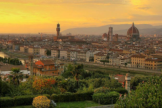 Florencia, en Italia, el arte hecho ciudad