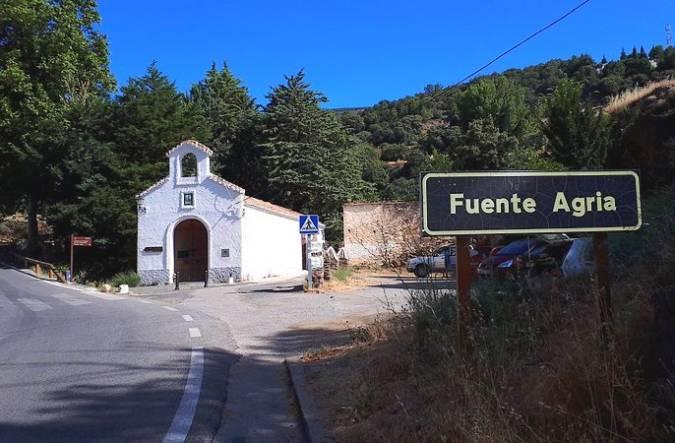 La Fuente Agria de Pórtugos, en Granada