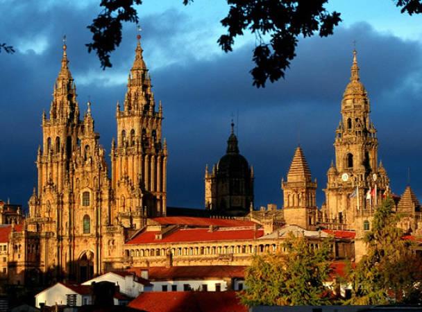 Santiago de Compostela, en Galicia