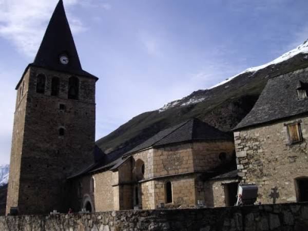Iglesia de Sant Julian, en Garós, Lleida
