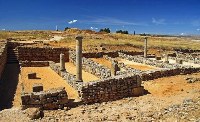 Yacimiento Arqueológico de Numancia, en Garray, Soria