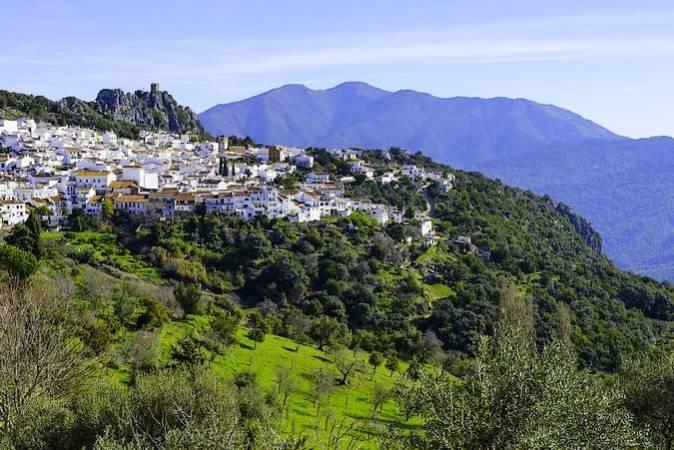 Gaucín, en la malagueña Serranía de Ronda