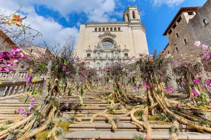 "La fiesta primaveral ""Girona, Temps de Flors"""