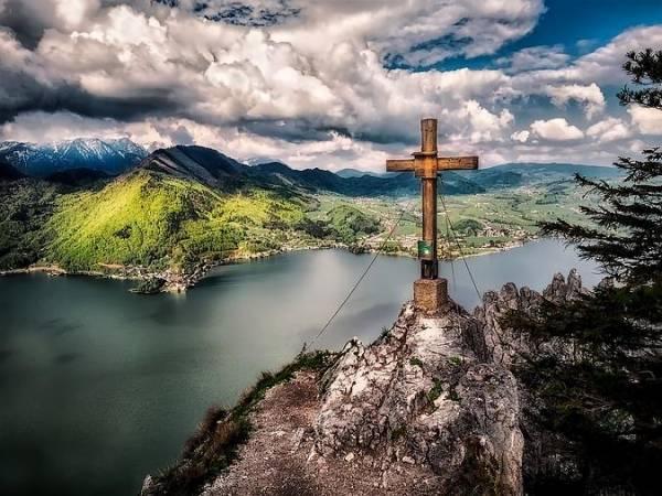 Gmunden y el lago Traunsee, en Austria