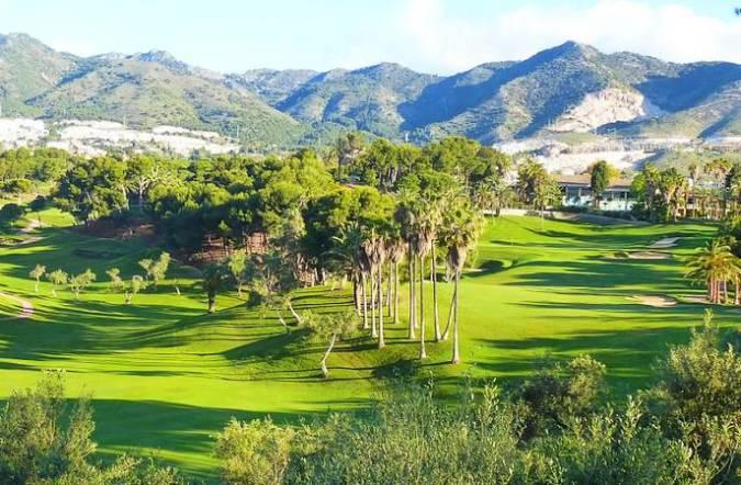 Golf Torrequebrada, en la localidad malagueña de Benalmádena