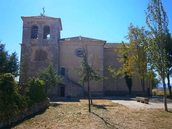 Iglesia de San Vitores, en Grajera, Segovia