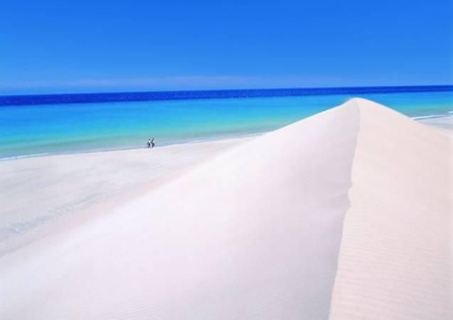 Las Grandes Playas de Corralejo, en Fuerteventura
