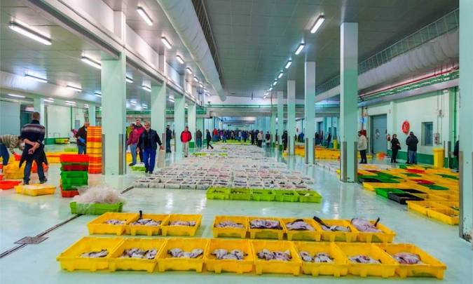 Lonja de pescado de A Coruña