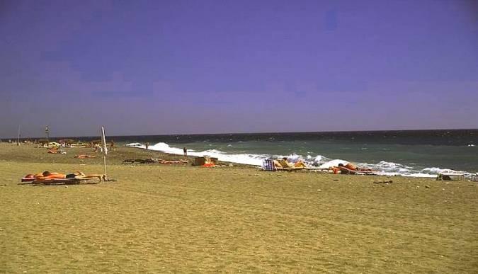Playa de Algarrobo Costa, en Málaga