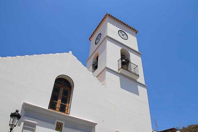 Iglesia de Santa Ana, en Algarrobo, Málaga