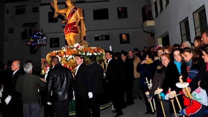 Festividad de San Sebastián en Algarrobo, Málaga
