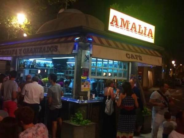 Kiosco Amalia, en Almería