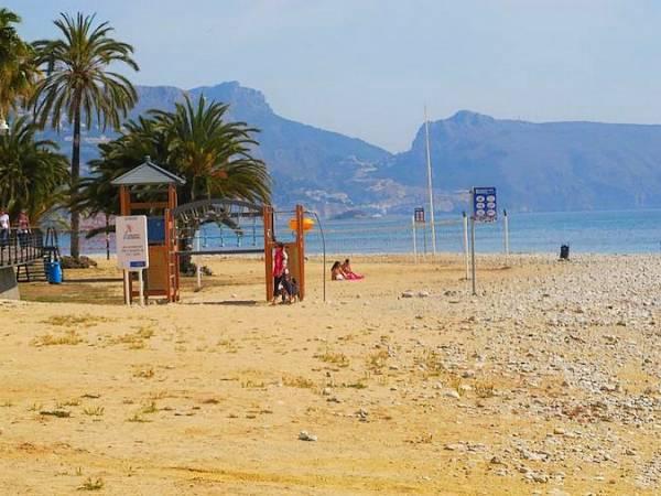 Playa de La Roda, en Altea, Alicante
