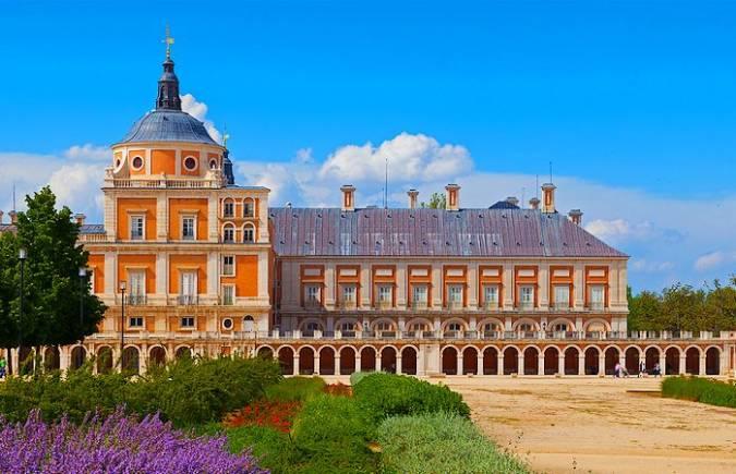Palacio Real de Aranjuez, en Madrid