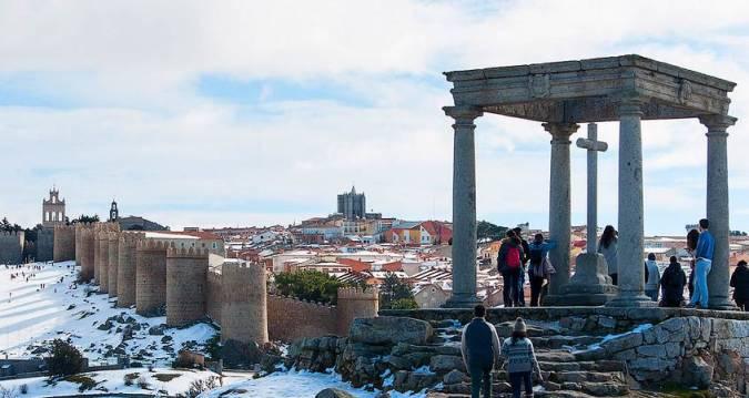 Los Cuatro Postes, en Ávila