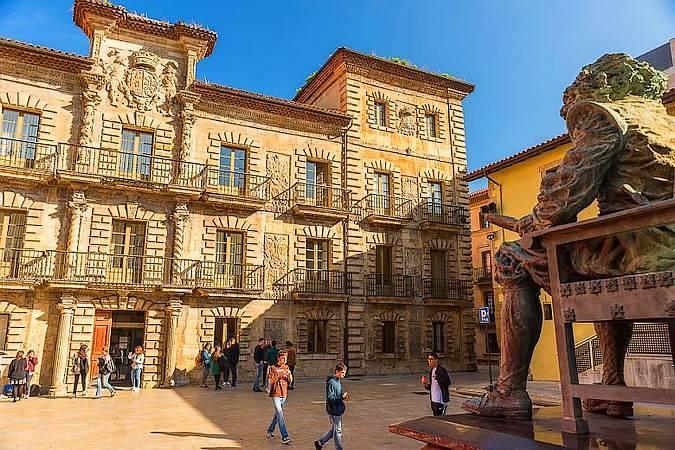 Palacio de Camposagrado, en Avilés, Asturias