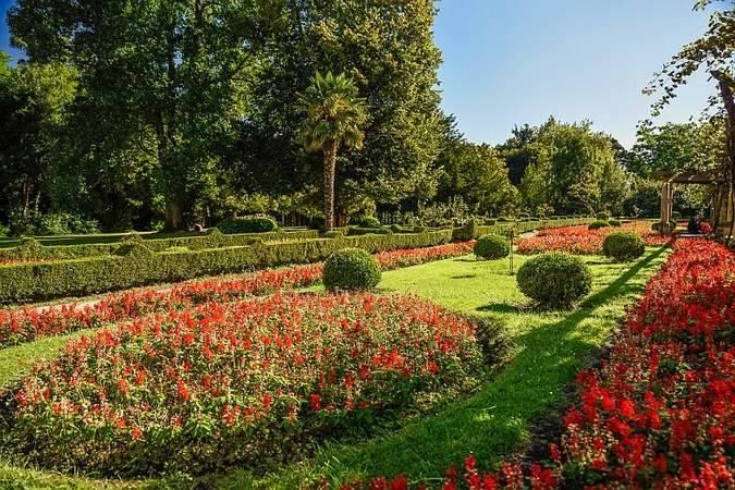 Parque Ferrara, en Avilés, Asturias