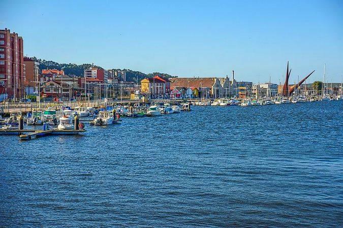 Puerto Deportivo de Avilés, en Asturias