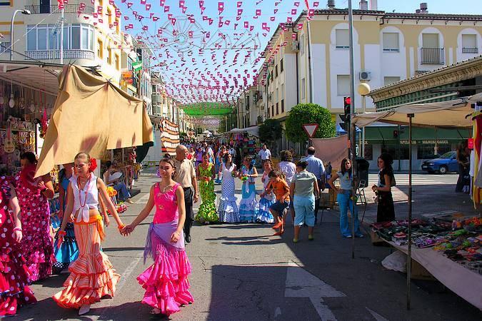 Feria Real de Baena, en Córdoba