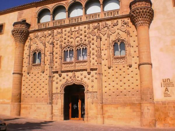 Palacio de Jabalquinto, en Baeza