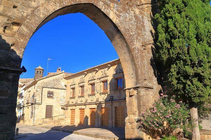 Puerta de Jaén, en Baeza