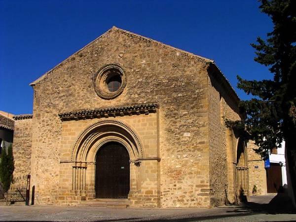 Iglesia de la Santa Cruz, en Baeza