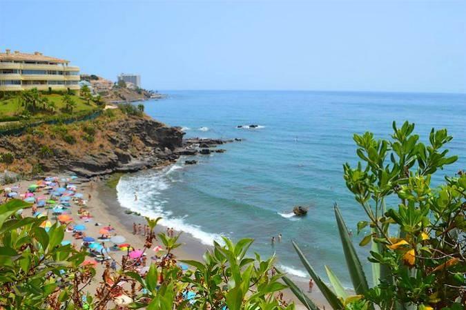Benalnatura, única playa nudista en Benalmádena