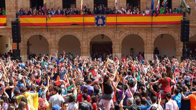 Fiestas de la Veguilla, en Benavente, Zamora