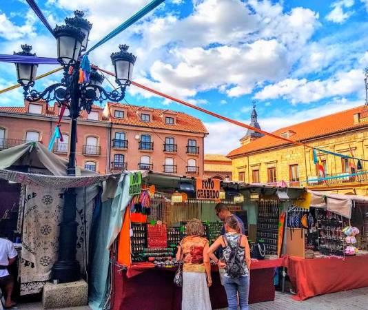 Mercado Medieval de Benavente, en Zamora
