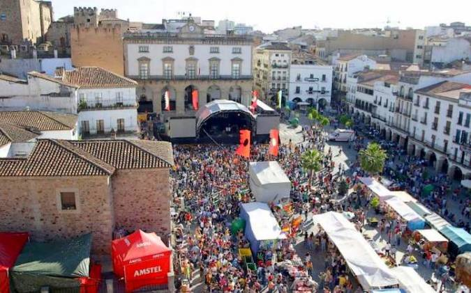 Festival Womad en Cáceres