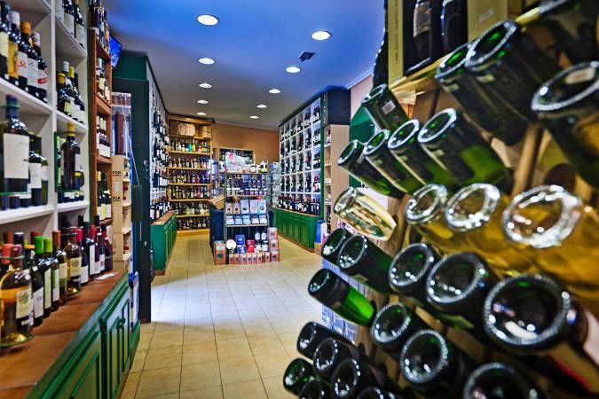 Tienda de vinos Magerit, en Cádiz
