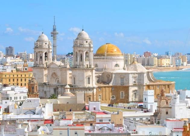 Panorámica de la Catedral de Cádiz