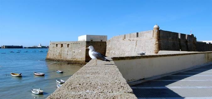 Castillo de Santa Catalina, en Cádiz