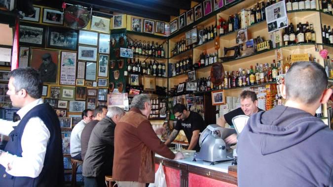 Taberna Casa Manteca, en Cádiz