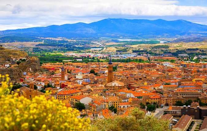 La ciudad de Calatayud, en Zaragoza