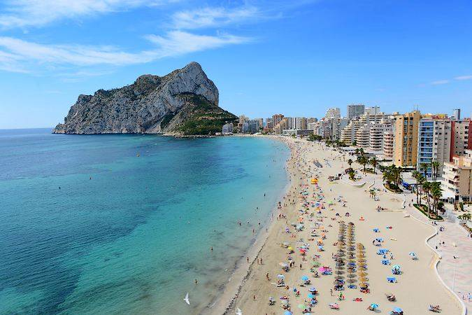 Playas de Calpe, en Alicante