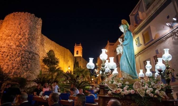 Fiestas Patronales de la Virgen de las Nieves, en Calpe