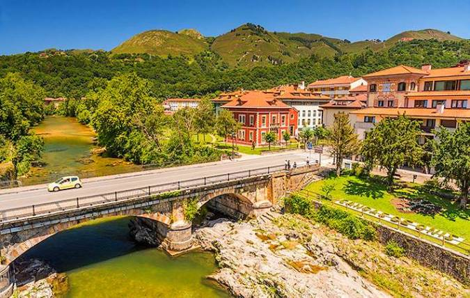 Cangas de Onís, en Asturias