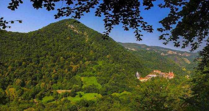Real Sitio de Covadonga, en Asturias