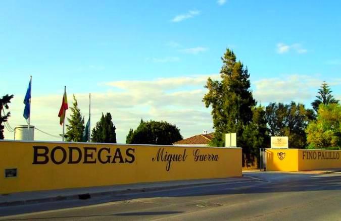 Bodegas Miguel Guerra, en Chiclana