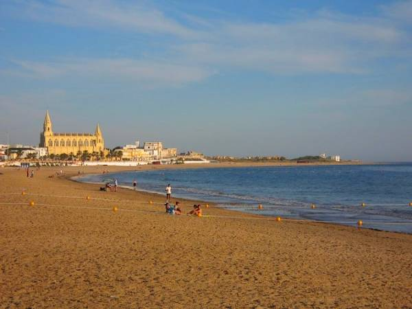 Playa de Regla, en Chipiona, Cádiz