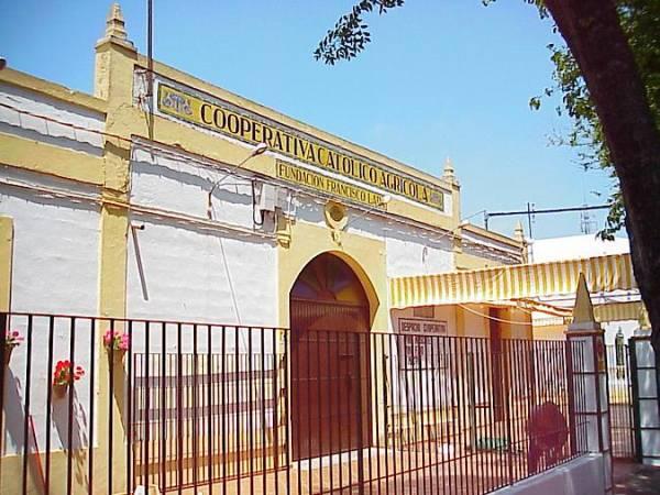 Bodega Cooperativa Católico Agrícola, en Chipiona, Cádiz