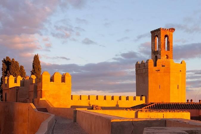 Alcazaba de la ciudad de Badajoz