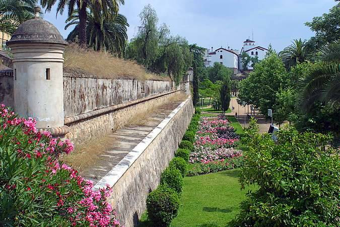 Baluarte de San Vicente, en Badajoz