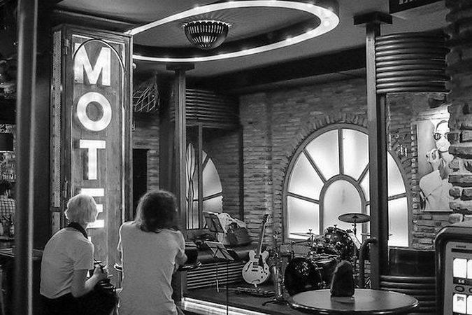 Motel 7 Bar Club, en Badajoz