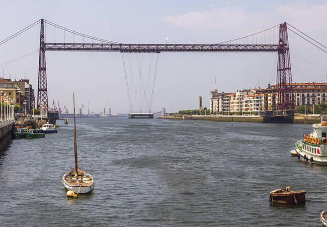 Puente Colgante de Bilbao